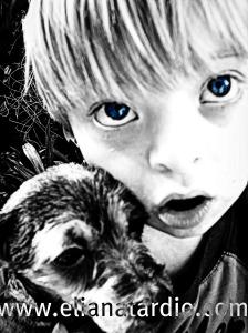 Las mascotas para los niños con discapacidad