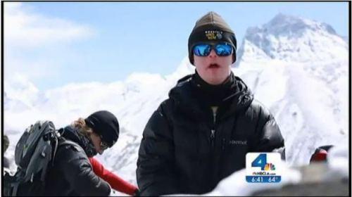 La primera persona con síndrome de Down en llegar al campo base del Monte Everest, y una de las pocas en el mundo en alcanzar este gran reto.